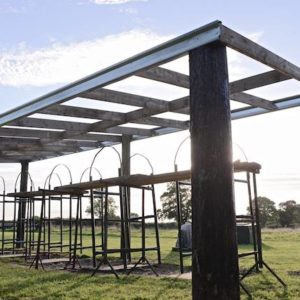 Clay Pigeon Shoot gets a New Shelter