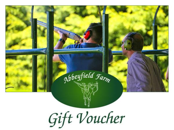 Abbeyfield Farm Clay Shooting Gift Voucher