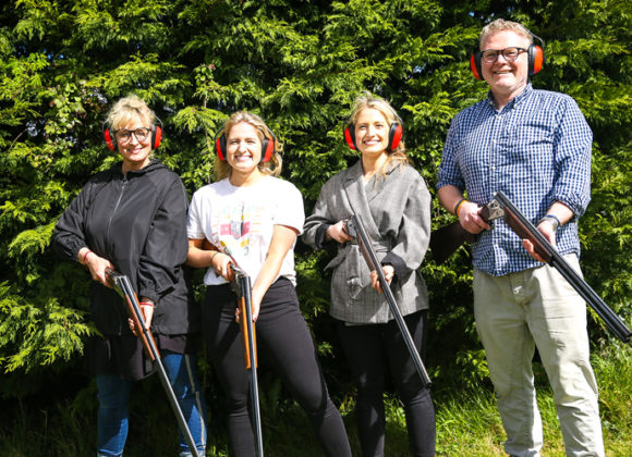 Five ways your team can benefit from clay pigeon shooting