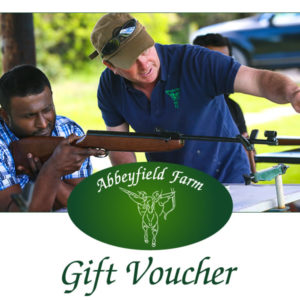 Abbeyfield Farm Air Rifle Shooting Gift Voucher