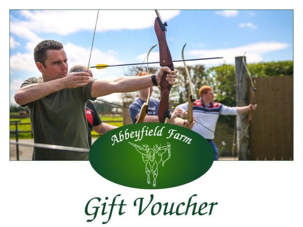 Abbeyfield Farm Gift Voucher Archery