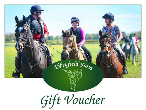 Abbeyfield Farm Horse Riding Gift Voucher
